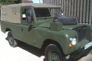 1984 SERIES 3 EX MILITARY 109 FFR LANDROVER LAND ROVER VERY STRAIGHT