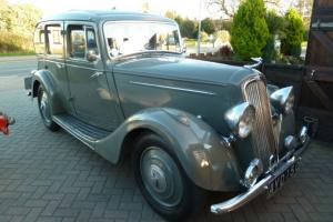 Classic/Vintage Car Humber Twelve 1935 four door saloon AYD 150 Photo