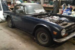 Triumph TR6 Restoration Project LHD Photo
