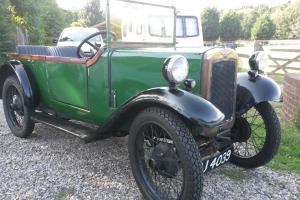 Austin 7 - Special (British Racing Green) 1937 Ruby Chassis