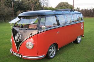 1957 VW 23 WINDOW SAMBA BUS. YES! THE REAL THING AND THE HOLY GRAIL OF VW BUS's.
