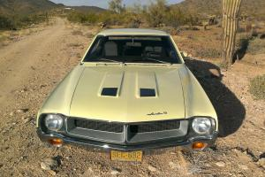 1970 AMC Javelin V8 3 speed manual. Not Camero or Mustang