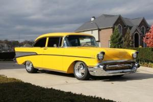 57 Chevy Bel Air Gorgeous Frame off Restored Show Car
