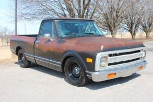 1971 CHEVY C10 PICKUP SHORT BED 5.3 LS MOTOR SWAP AC PATINA LOWERED ALL NEW