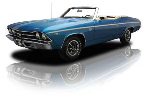 Documented Restored Chevelle SS L78 396 Convertible