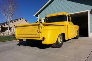 1955 Chevrolet hot rod big window truck project !!!!