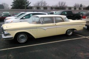 1959 Edsel Ranger 2 Door Sedan 292Ci V8 Great Condition & Manual Transmission