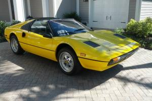 ~NO RESERVE~ 1980 Ferrari 308 GTS *Euro with Carbs* Fly Yellow/Nero with history