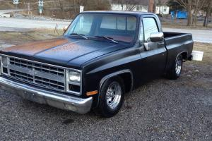 1982 gmc sierra short wheel base rat rod truck chevrolet. Black Bedroom Furniture Sets. Home Design Ideas