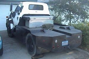 1980 Chevy Other Topkick Tow Truck Rat Rod 15,000# Winch Gas Engine 350 GMC