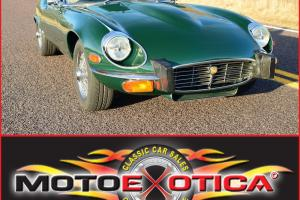 1974 JAGUAR XKE ROADSTER- LAST YR OF SERIES III-INVESTMENT GRADE-40K IN RECEIPTS Photo