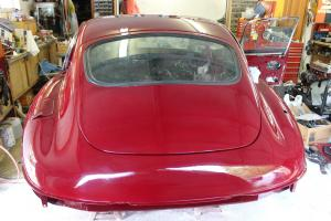1969 Jaguar E-Type FHC-unfinished restoration Photo