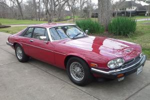 1988 Jaguar XJS - V12 Coupe in Red excellent condition with special history Photo