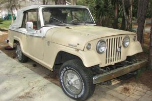 1967 JEEP JEEPSTER COMMANDER CONVERTABLE VERY RARE BARN FIND!!