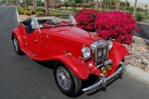 1952 MG TD SERIES ROADSTER - CALIFORNIA CONVERTIBLE 4 SPEED TRIBUTE NO RESERVE!