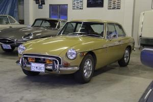 1972 MGB GT Hatchback Coupe with many extras!