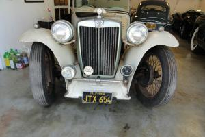 1948 MG TC, Genuine Garage Survivor, California Car