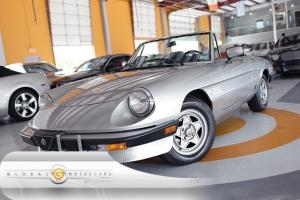 84 ALFA ROMEO SPIDER VELOCE CONVERTIBLE NEW-LEATHER-INT NEW-TOP NEW-TRANSMISSION