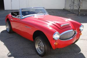 1963 AUSTIN HEALEY BJ7 ROADSTER V8 HOT ROD PARTS PROJECT CAR