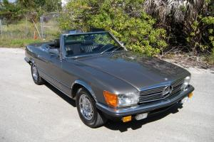 1984 Mercedes Benz 500SL R107 Gray with Black Leather and 57K Original Miles