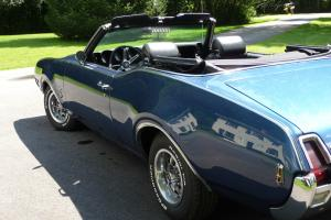 Stunning Trophy Blue Convertible.  Bucket Seats, Console, AT,PS,PB, Factory A/C