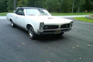 1967 Pontiac GTO Convertible - 4 Speed HO PHS Doc