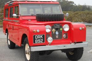 1964 LAND ROVER 109 2A SAFARI WAGON Photo