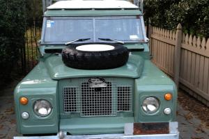 "1972 Land Rover Series 2A Station Wagon 109"" Safari Top Right Hand Drive! Photo"