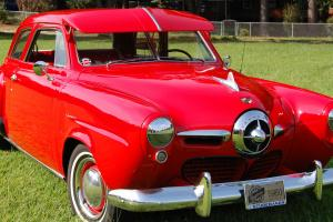 1950 STUDEBAKER CHAMPION.  2-DOOR BULLET NOSE