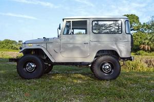 1971 Toyota Land Cruiser FJ40 completely restored by Amazonia 4x4 Performance