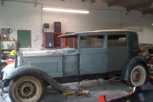 1931 PACKARD RARE RUST FREE CALIFORNIA CAR STORED INSIDE FOR 75 YEARS