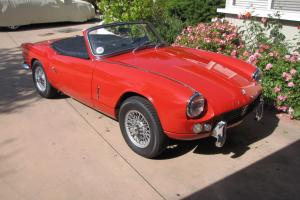 One-of-a-kind 1964 Triumph Spitfire 4 / Mark 1 Roadster
