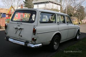 1966 Volvo 122S Amazon Wagon (122, white, running)