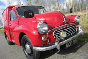 1968 MORRIS MINOR 8 CWT LIGHT VAN *** VERY RARE NOW ~ GREAT INVESTMENT ***