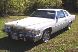 ONE OWNER 1978 CADILLAC COUPE de VILLE 20,000 ORIGINAL MILES!!!!