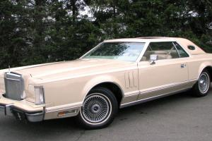 Lincoln : Mark Series Cartier Designer Edition