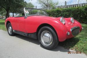 1960 AUSTIN HEALEY BUGEYE SPRITE ROADSTER with 1275 CC Engine