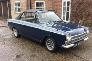 Ford Cortina Crayford Convertible Cabriolet MK1 1966 Runs & Drives Orginal Car