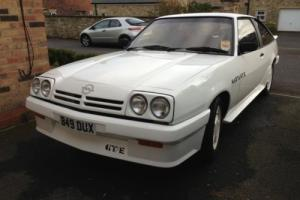 OPEL MANTA GTE - LOW OWNERS - RECENT RESTORATION - NEW TYRES