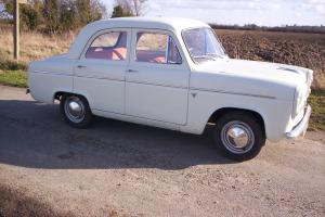1959 ford prefect 100E 4 DOOR UNDER 11000 MILES TOTALY ROT FREE