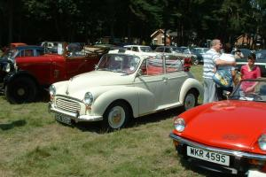 Morris Minor Convertible 1967 low mileage.