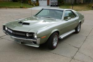 1970 AMC AMX 390/325HP with Go Package