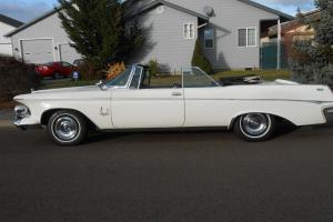 1963 CHRYSLER IMPRERIAL CROWN CONVERTIBLE ,,66K ORIGINAL MILES LOW RES