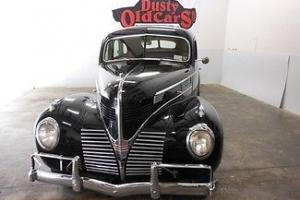 1939 Black Suicide Doors Runs Great Body & Interior Excellent!