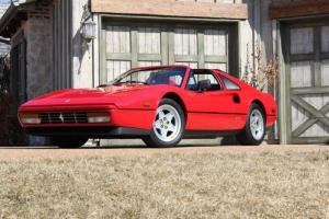 1987 Ferrari 328 GTS Red over Black One Owner Low Miles! Corvette Killer!