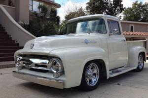 1956 Ford F100 Custom Cab Pick Up Mustang V8 Auto A/C P/S P/W All Steel Body!