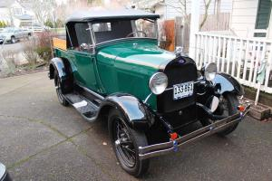 1928 Ford Model A Roadster Pickup, RECENT FULL RESTORATION, BEAUTIFUL TRUCK!