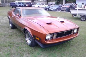1973 Ford Mustang Mach 1 Restored !!