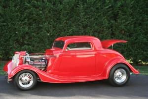1934 FORD 3 WINDOW COUPE PROFESSIONALLY BUILT