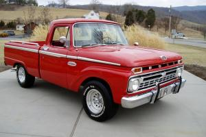 1966 FORD F-100 CUSTOM CAB WITH THE RANGER PACKAGE. 26K MILES. VERY RARE ..